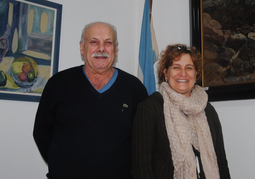 Ricciutio y Dra Valente