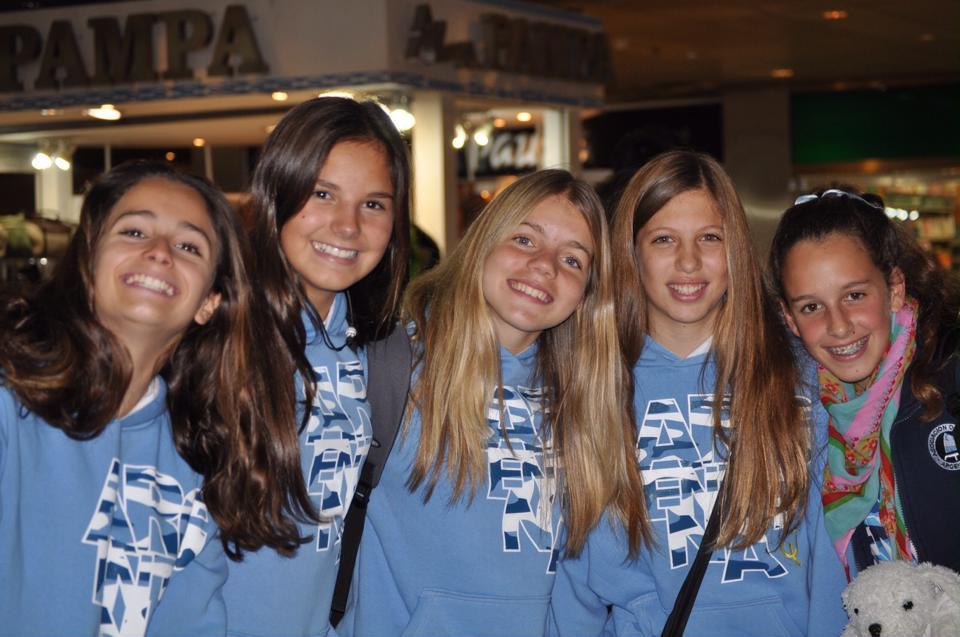 niñas equipo Argentino