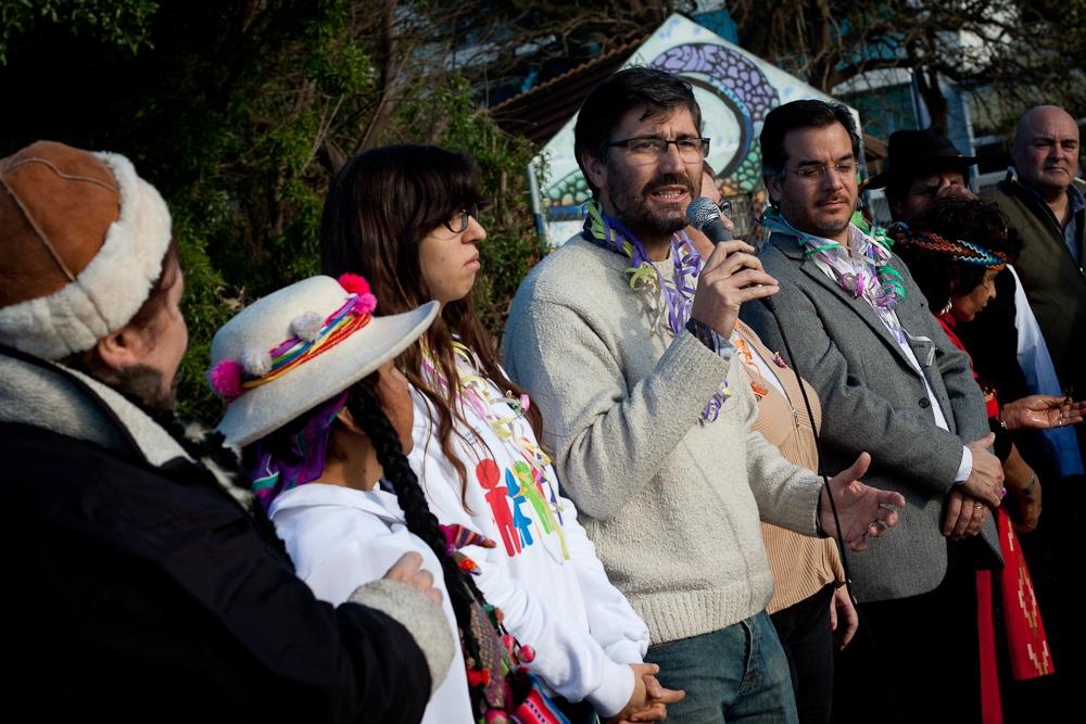 Con las ofrendas Mar del Plata celebró la Pachamama
