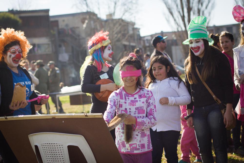 La Municipalidad celebró el Día del Niño en la Plaza del Barrio Centenario