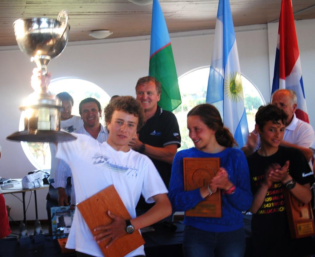 Massimo Contessi se consagró Campeón Argentino en Optimist