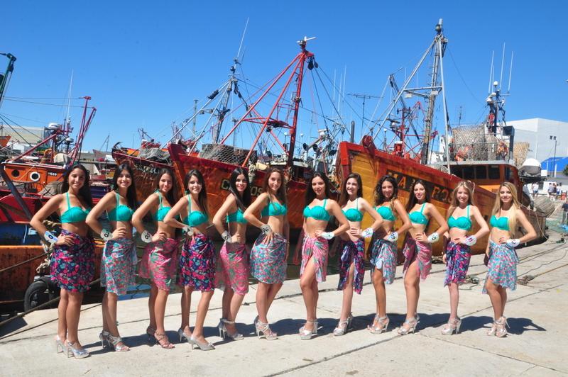12 Finalistas a Reina Nacional de los Pescadores-001