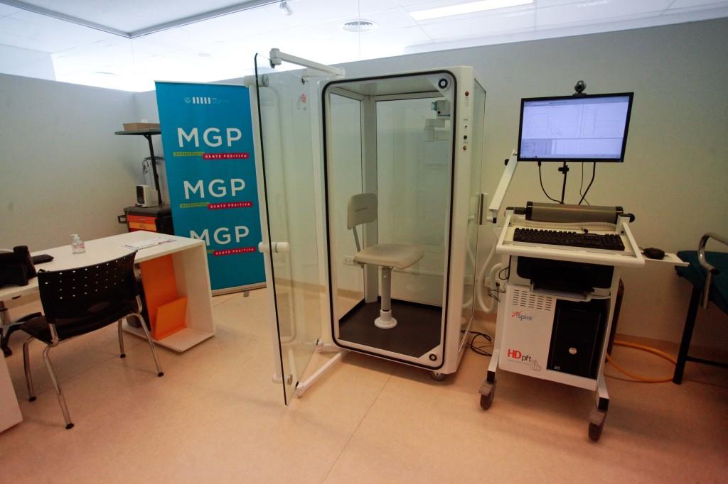 Foto MGP - Salud - CEMA - cabina pletismografica