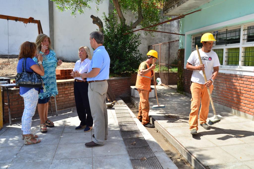Fotos MGP - La Municipalidad trabaja en 60 escuelas