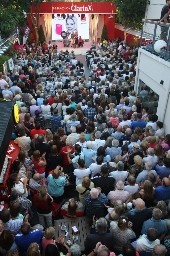 Espacio ClarÍn desde su apertura mas de 100.000 espectadores dijeron presente.