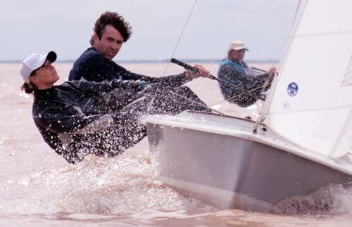Yachting: la dupla Soubie / Lypszyc lideran el sudamericano Snipe