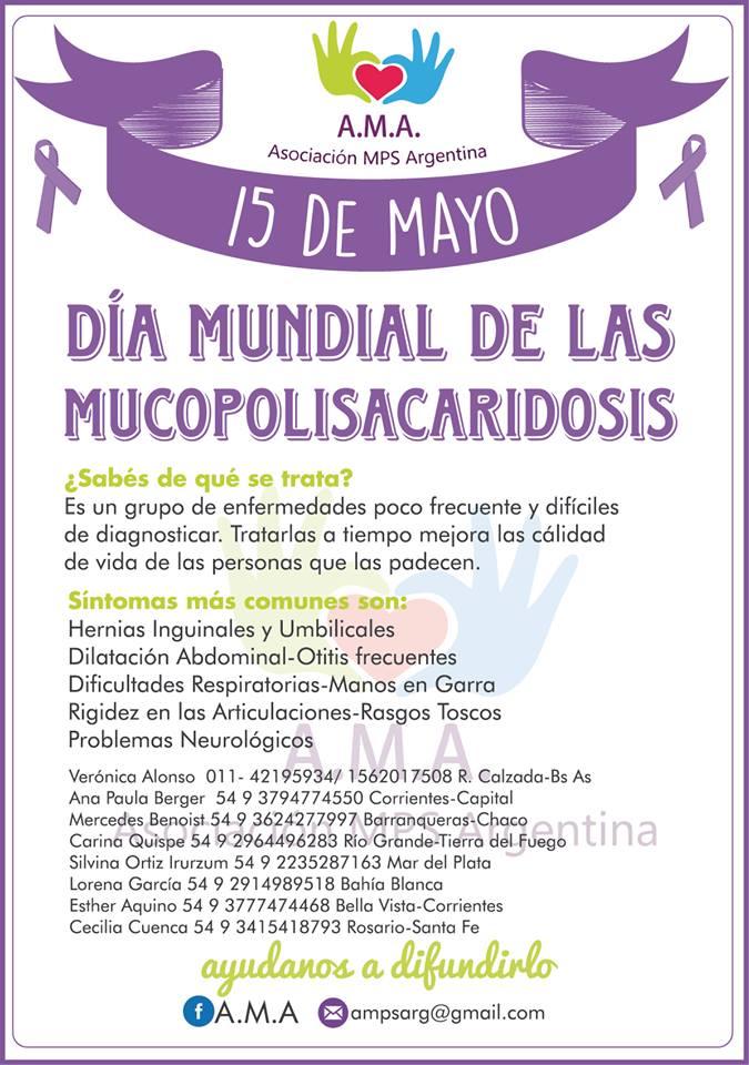 Se celebra el Día Mundial de las Mucopolisacaridosis
