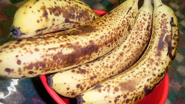 Recomiendan comer bananas con manchas oscuras