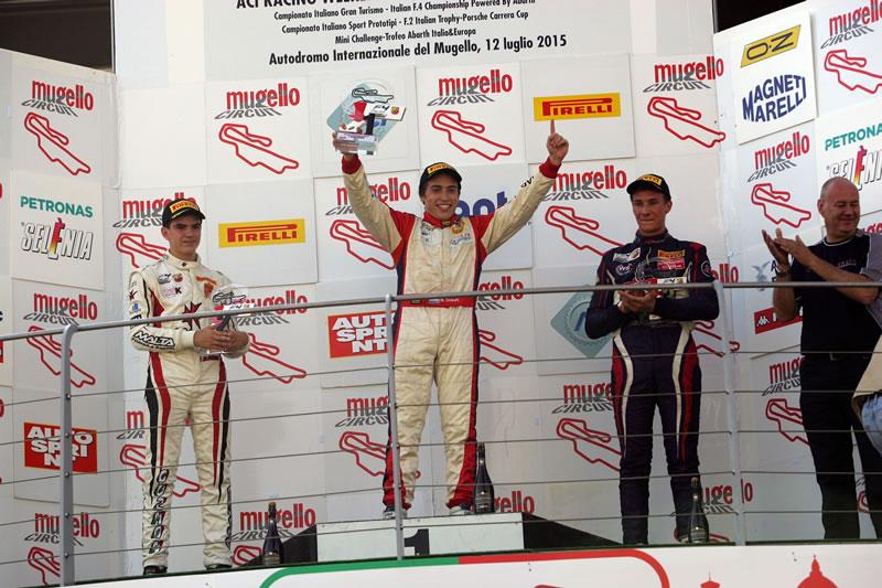 El marplatense Marcos Siebert logró la victoria en Mugello