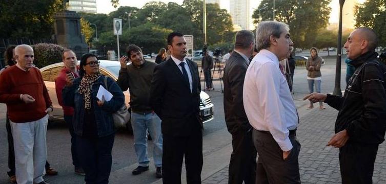 Grave denuncia contra el ministro de Seguridad bonaerense