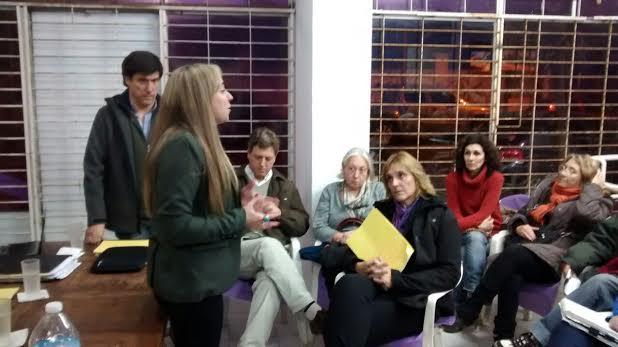 Dra. Mercedes Parreira y Concejal Mario Rodríguez
