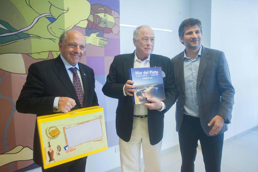 Fotos MGP - Premio Nobel de Quimica Kurt Wuthrich recorrio el CEMA