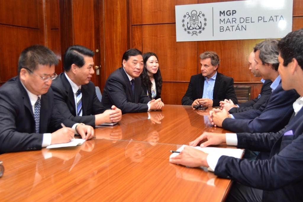 Fotos MGP - Pulti recibio a una delegacion de la ciudad cina Tianjin