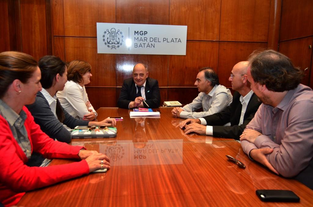 Fotos MGP - Arroyo se reunio con el Ministro de Cultura de la Provincia
