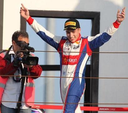 Gran victoria del marplatense Marcos Siebert en Italia