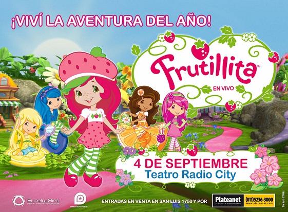 """Llega a Mar del Plata """"Frutillita – El Festival de la Primavera"""""""