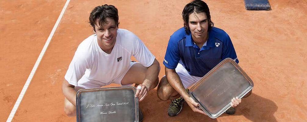 Zeballos y Peralta, campeones en el dobles del ATP de Gstaad