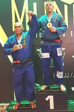 El luchador marplatense Carlos Piana se consagró campeón mundial de Jiu-Jitsu en Brasil