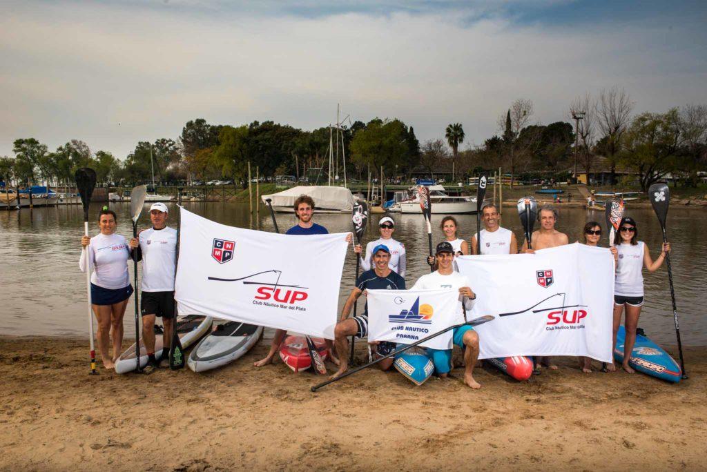 Stand Up Paddle: El Club Náutico Mar del Plata dejó su huella en Paraná