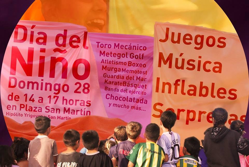 El municipio festejará este domingo el Día del Niño