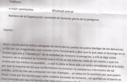 Nueva denuncia contra la delegada de Sierra, la acusan de apropiarse de fondos benéficos