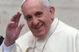 Papa Francisco, humildemente