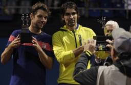 Zeballos logró junto al chileno Peralta un nuevo título en dobles
