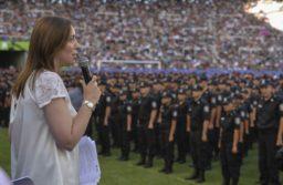 Vidal pasó la escoba: echan a 58 jefes de policía bonaerense por ocultar su patrimonio