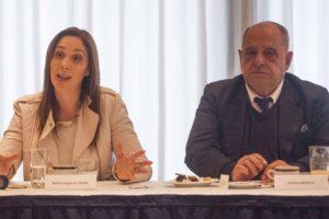 """Arroyo con Vidal: """"El gasoducto tendría que estar funcionando para septiembre del año que viene"""""""