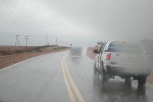 Debido a la lluvia, varias rutas provinciales se encuentran inundadas
