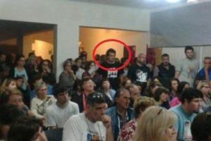 Detectaron que La Cámpora organizó el escrache a Macri en Tandil