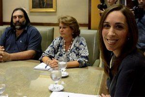 Vidal  recibe a docentes en una nueva paritaria salarial