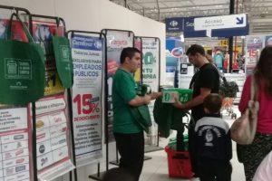 El municipio de Tandil entregó 1.600 bolsas reutilizables