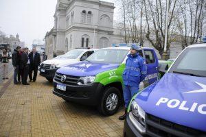 Tandil: el municipio incorporó diez nuevos vehículos para protección ciudadana