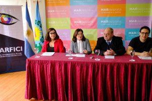 Arroyo encabezó la presentación oficial del festival MARFICI
