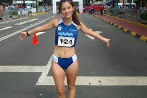 La marplatense Brenda Palma nuevo récord nacional en atletismo