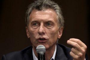 """Macri: """"El narcotráfico hace mierda a nuestros jóvenes"""""""