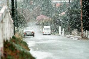 Nevó en Sierra de la Ventana, Bahía Blanca y el sur de Buenos Aires