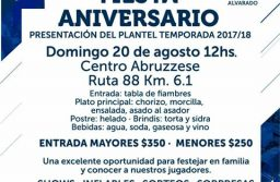 Alvarado, a cuatro días de la gran fiesta aniversario
