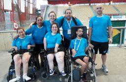 Medalla de plata argentina en la Copa América de Boccia