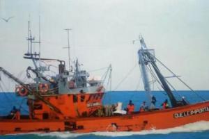Se hundió otro buque pesquero en Rawson; no se registraron víctimas