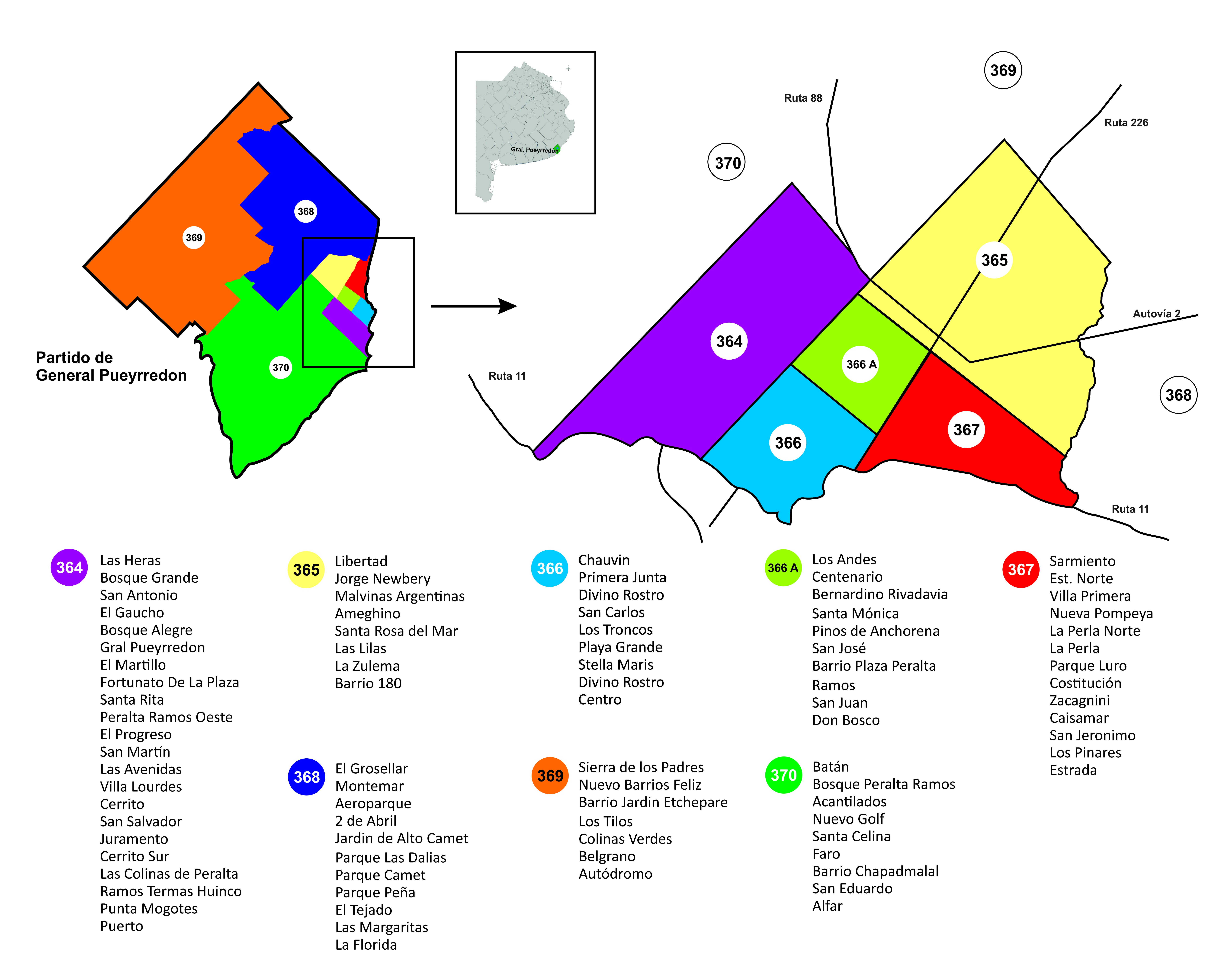 Circuito Mayor : Cambiemos consolidó su voto en los circuitos de mayor peso electoral