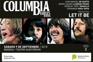 Columbia se presenta en La Bodega del Teatro Auditórium