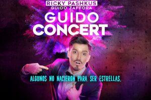 Guido Zaffora llega al teatro de la mano de Ricky Pashkus en Guido Concert