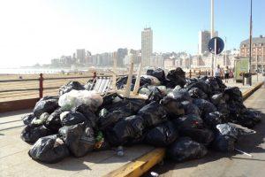 La basura forma parte de la herencia recibida: estalló potente bomba que dejaron activada