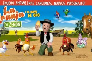 """""""La Granja de Zenón y el Huevo de Oro"""" se presenta este domingo en el Teatro Roxy"""