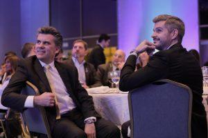 Marcos Peña en la cena aniversario de Fundación Global