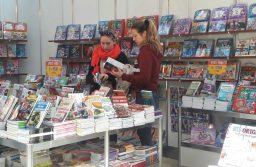 Policial, historietas y románticos se encuentran enla Feriadel Libro