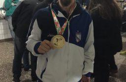 Buena actuación de Facundo Novik en el mundial de para-taekwondo de Londres