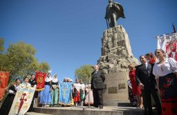 Arroyo encabezó el acto por el Día de la Hispanidad